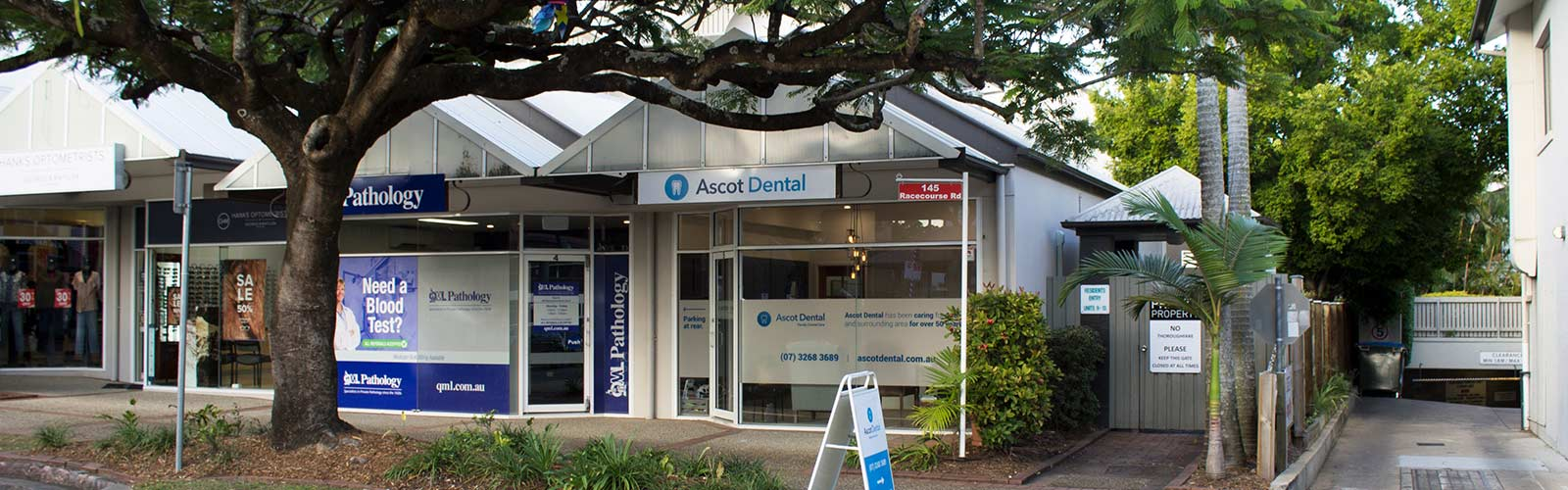 Ascot Dental Outside